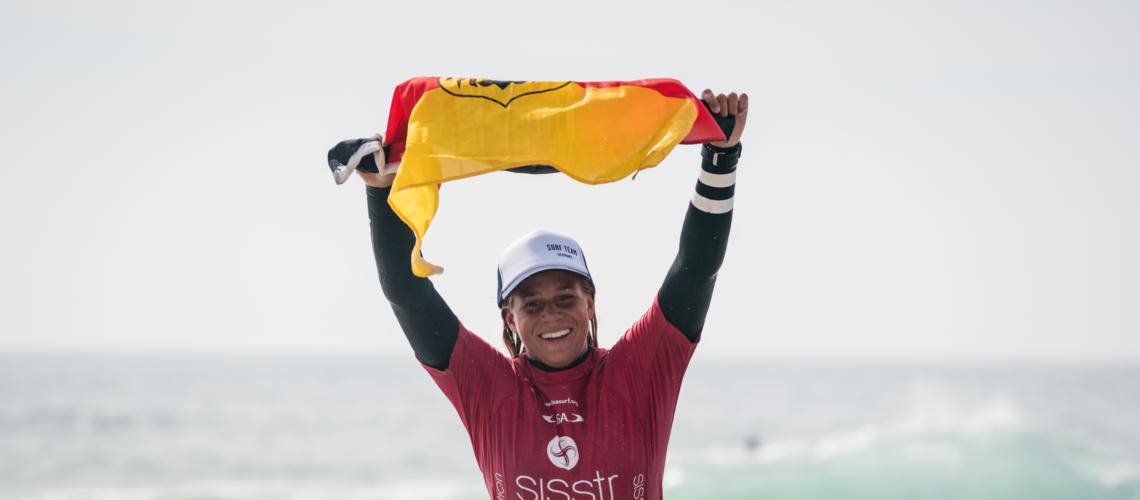 Rachel Presti ist U-18 Weltmeisterin