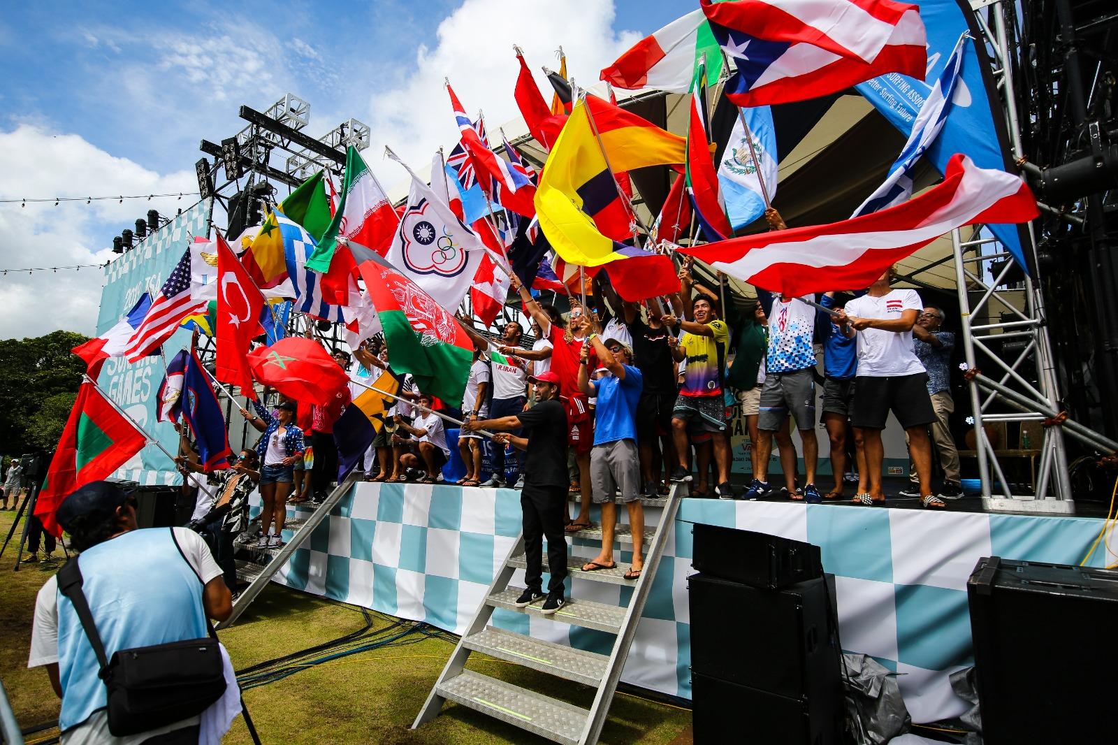 Die Eröffnungsfeier der ISA WSG 2019 in Japan, Foto: Gunar Steinert